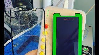 Замена стекла iPhone Pro по заводской технологии