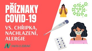 Příznaky COVID-19, a jak je odlišit od chřipky, nachlazení a alergií