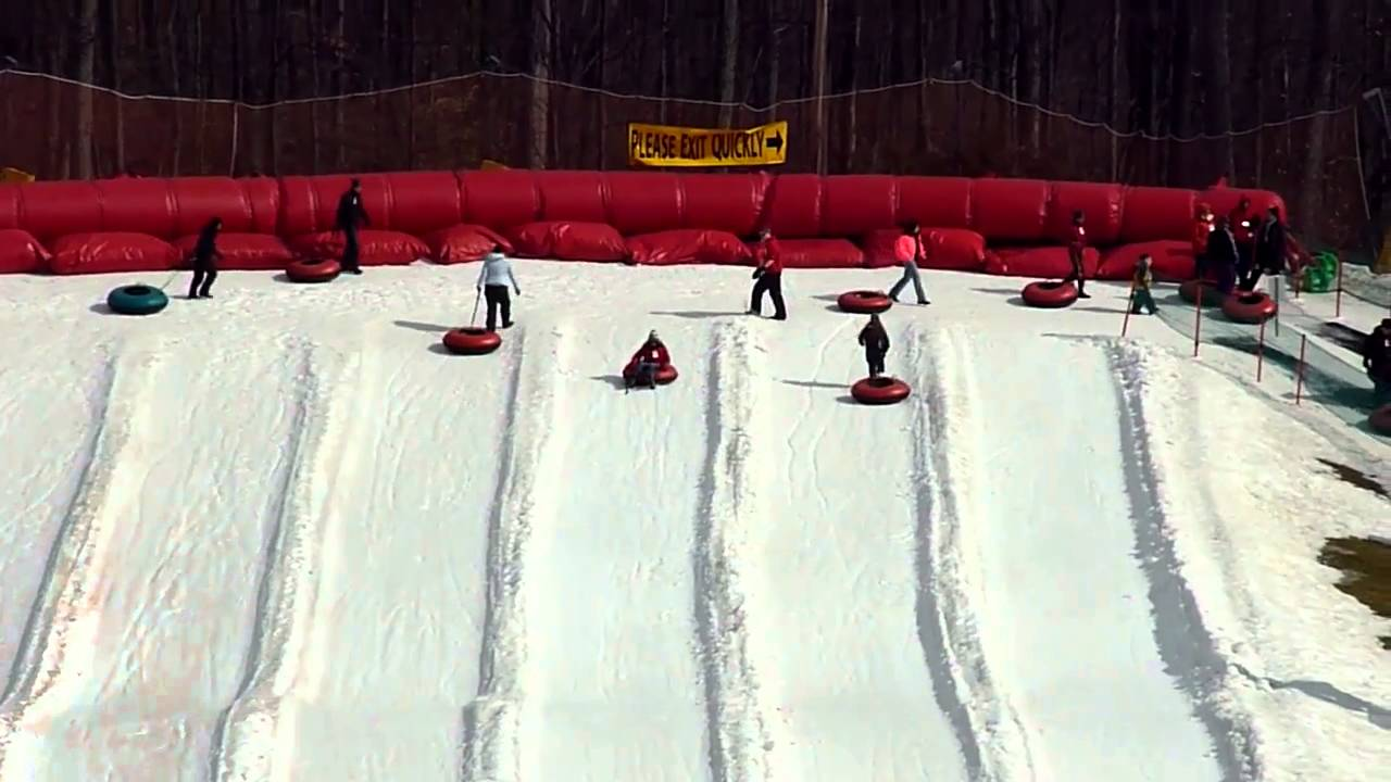 Snow Tubing At Ski Liberty