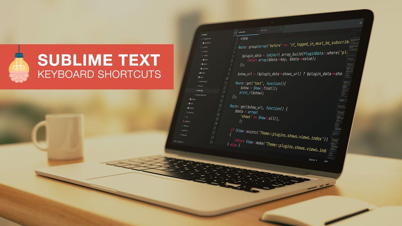 sublime keyboard shortcuts