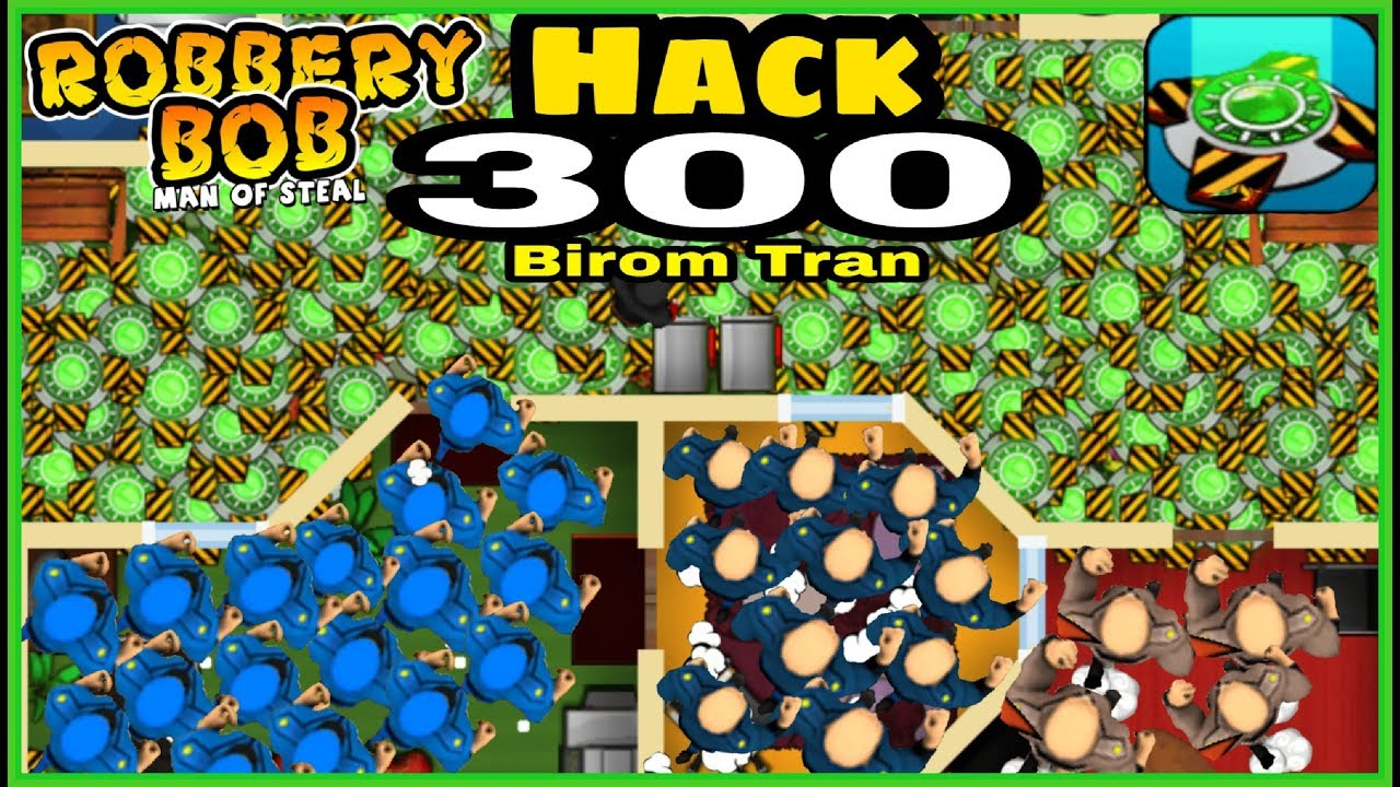 Download Robbery Bob : Man of steal - Hack 300 teleport mine and rotten donut