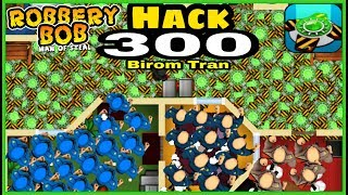 Robbery Bob : Man of steal - Hack 300 teleport mine and rotten donut