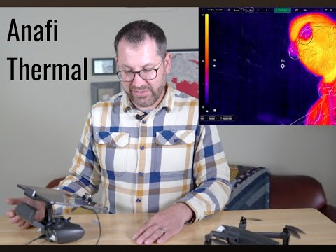 Unboxing of the Parrot Anafi Thermal drone