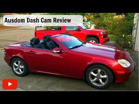Inexpensive Dash Camera Review , Ausdom Model AD109 Dash Cam Review