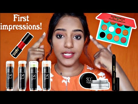 THURSDAYS TAMIL TUTORIAL - Trying New Makeup- First Impressions💖