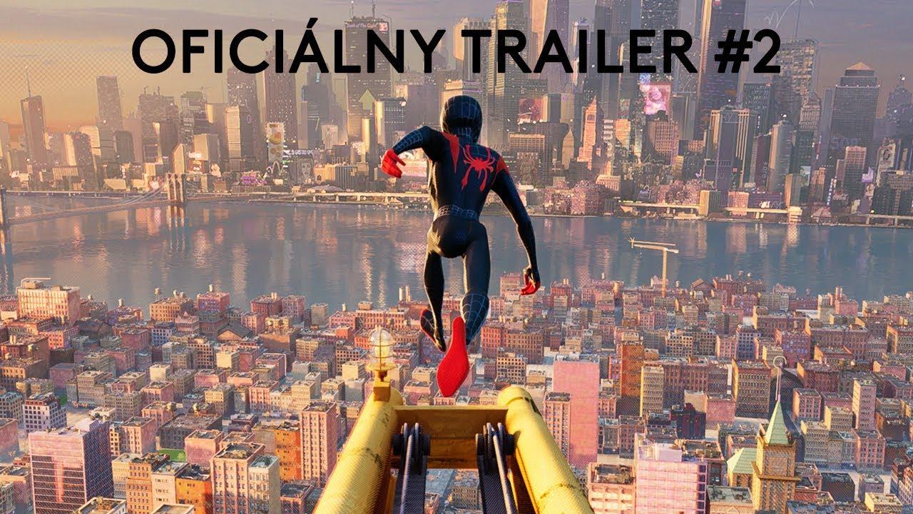 SPIDER-MAN: PARALELNÉ SVETY (trailer #2) - na Vianoce v kinách