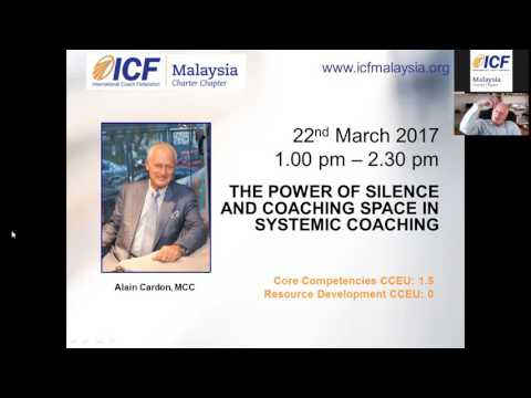 THE POWER OF SILENCE AND COACHING SPACE IN SYSTEMIC COACHING