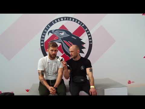 Adam Wardziński na ACB JJ European Open w Warszawie
