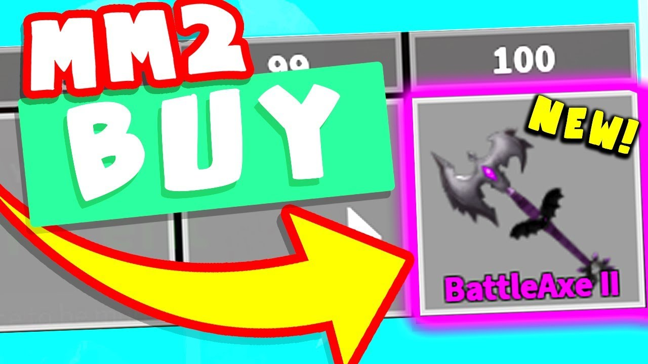 Roblox Mm2 Battle Axe Value Getting Battle Axe Ll Mm2 By Mythicalzxz