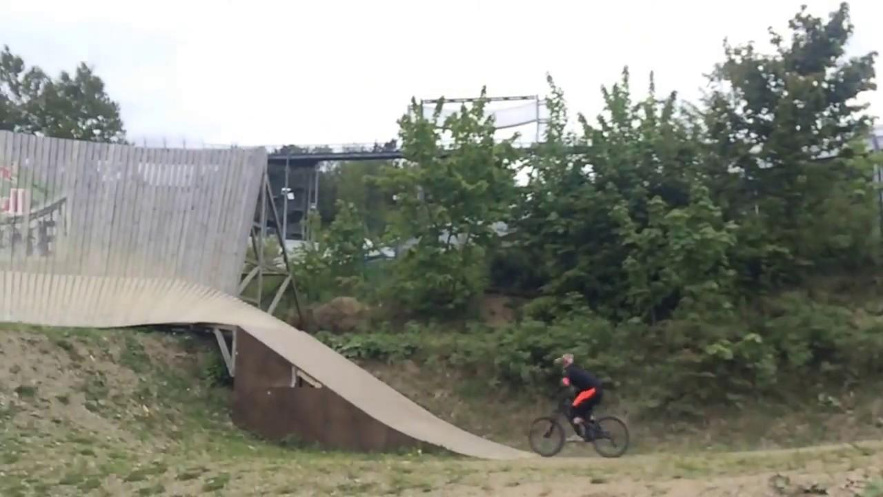Big Wall Ride At Winterberg Bike Park Germany Youtube