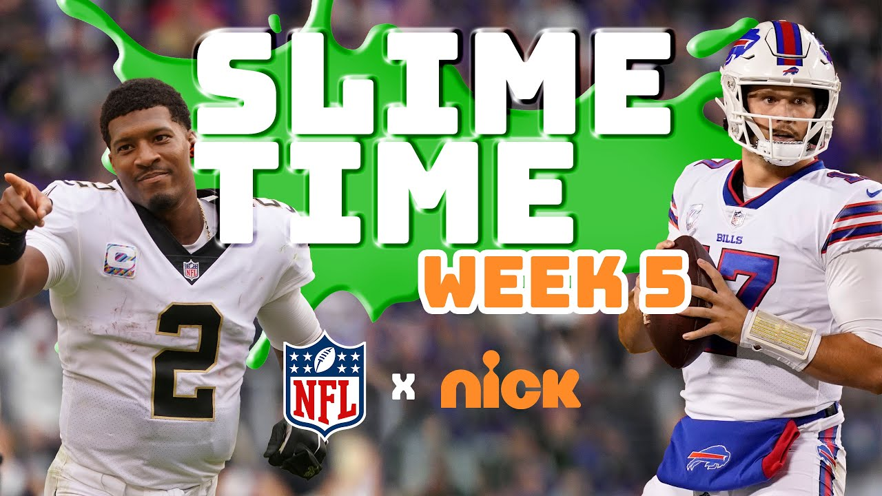 NFL SlimeTime: Week 5 Highlights, Reactions, and More!