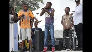 Rap Competition Meet The 3 little Most Talented Rapper At Agege As They Showcase Themselves