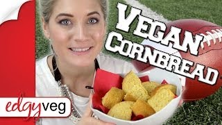 Vegan Recipe: Cornbread (thanksgiving Recipe) | Edgy Veg