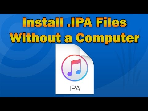 How to Install App  IPA Files Directly on iPhone, iPod touch