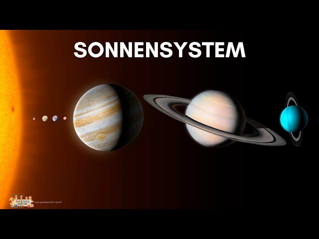 Die Planeten 🌎🪐 - Unser Sonnensystem ☀️ I Spielideen von Ben & Max - www.spielideen2021.de/GO