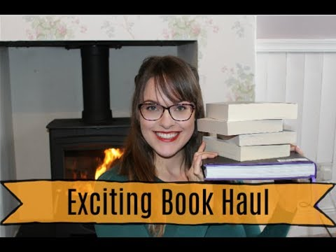 Exciting Book Haul November 2018