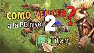 Ganandole a la pc NIVEL TITAN con thor en Age of mythology