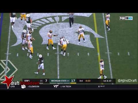 Joshua Jackson Iowa CB vs Michigan State   2017