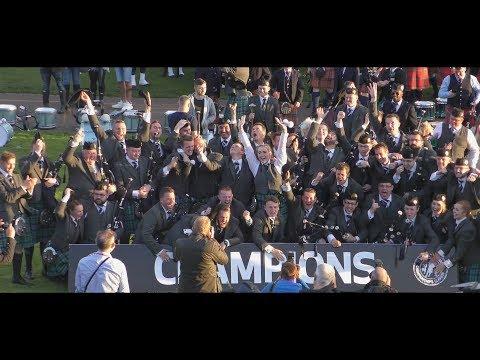 2017 World Champions: Inveraray & District Pipe Band