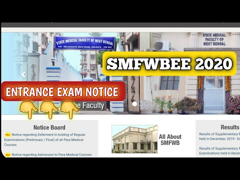 exam-update-//-smfwbee-2020-👩🎓-//-👨🏫paramedical-courses-in-west-bengal