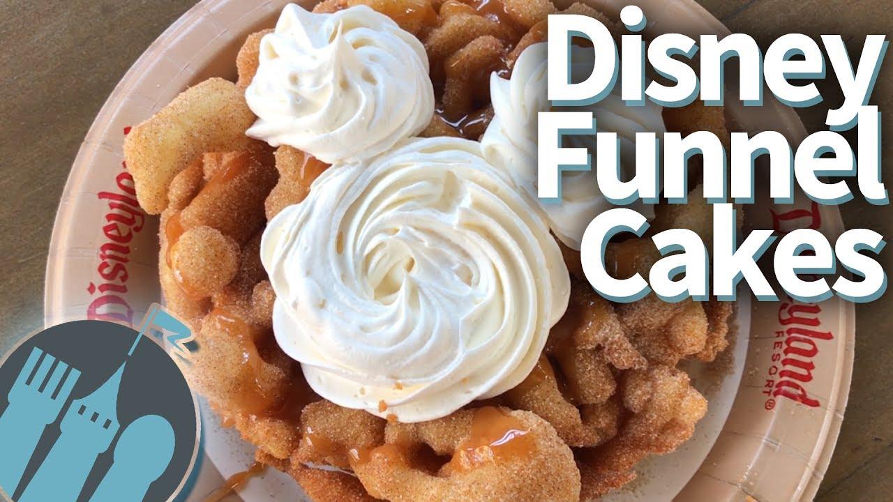 ULTIMATE Disney World and Disneyland Funnel Cakes YouTube