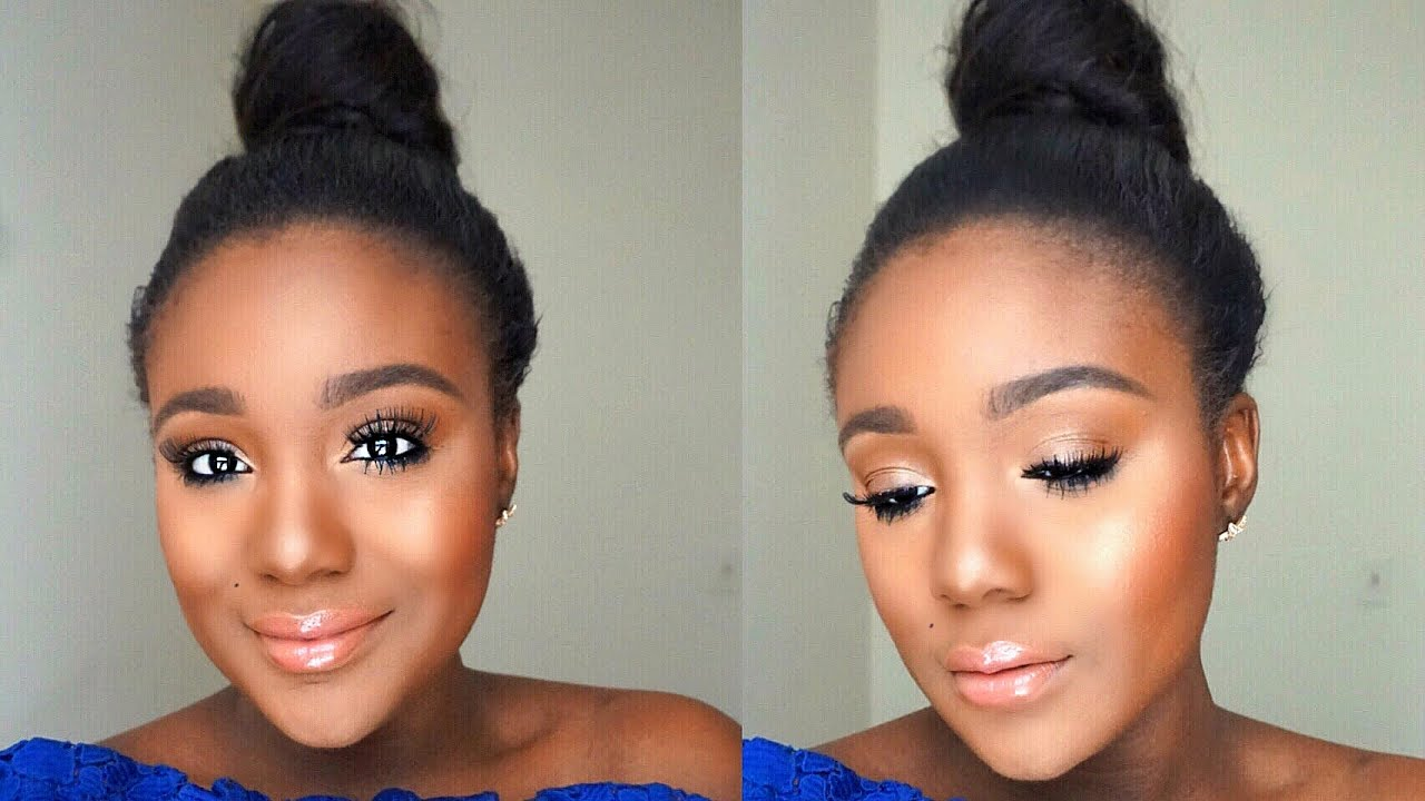 simple everyday summer makeup tutorial sweat proof