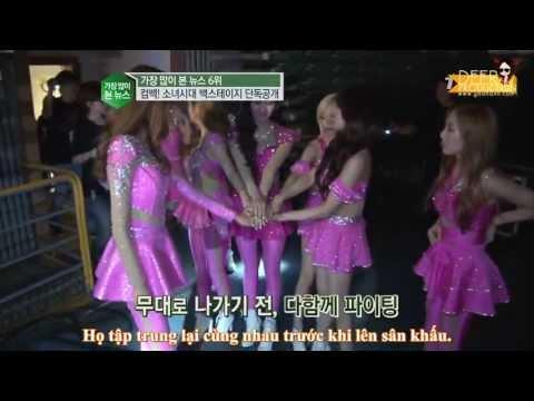 [YAVN][Vietsub] 130613 SNSD World Tour Backstage @ tvN E news