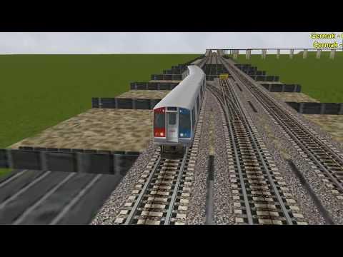 Open Rails CTA orange line inbound