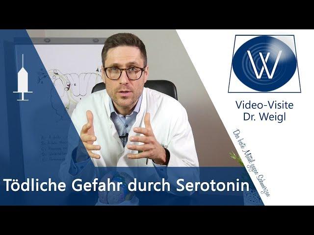 Serotonin-Syndrom: Macht viel Serotonin krank? Gefahr durch Antidepressiva & Pflanzliche Medikamente