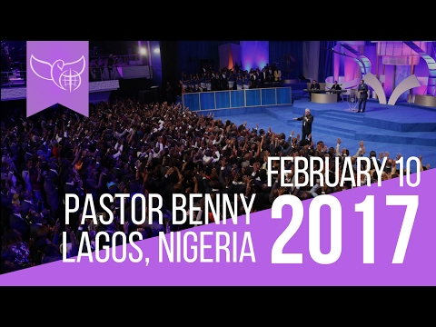 Benny Hinn LIVE in Lagos, Nigeria, February 10th 2017