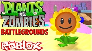 ROBLOX - Soy noob pero feliz xD - Plants Vs Zombies Battlegrounds