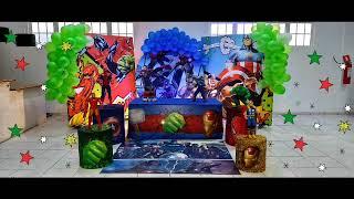 Cosmos Decorações - Os Vingadores