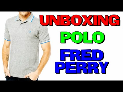 Unboxing Camisa Polo Fred Perry Original Dafiti (PT-BR) HD