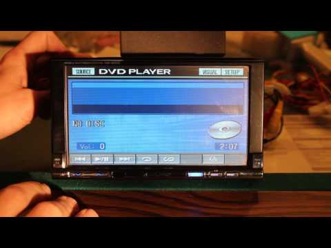 Alpine IVA-W205 Multimedia Deck Radio Overview
