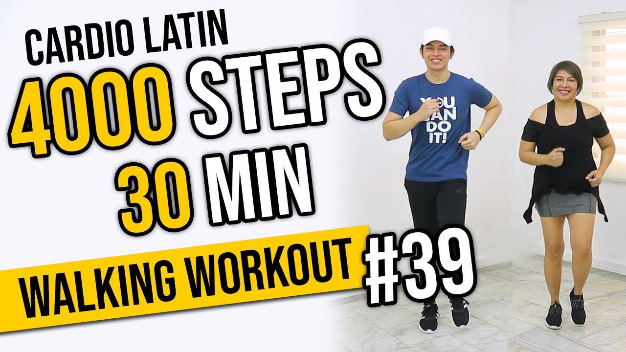 30 MIN CARDIO LATIN DANCE Workout with MOM! • 4000 Steps • Walking Workout #39 • Keoni Tamayo