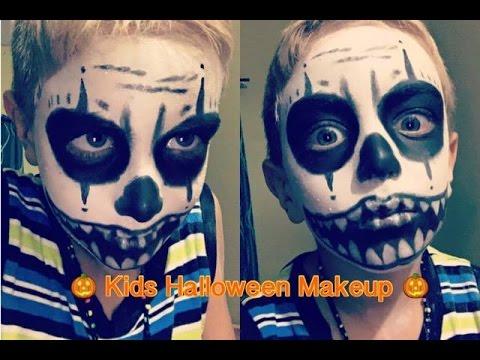Kids Halloween Makeup Tutorial