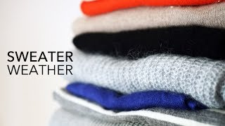 SWEATER WEATHER! The Best Wools, Cashmeres A look at Grana's knitwear!