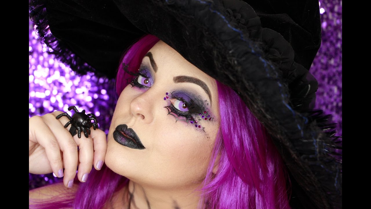Witch Makeup Tutorial Maquiagem De Bruxa Chic Youtube