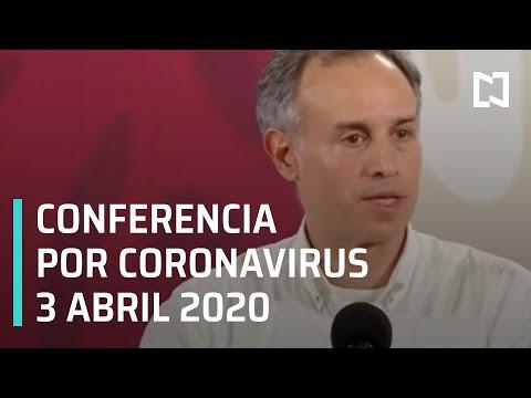 Conferencia Por Coronavirus En México - 3 De Abril 2020