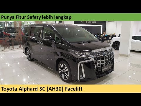 Toyota Alphard SC (3rd Gen) Facelift [AH30] review - Indonesia