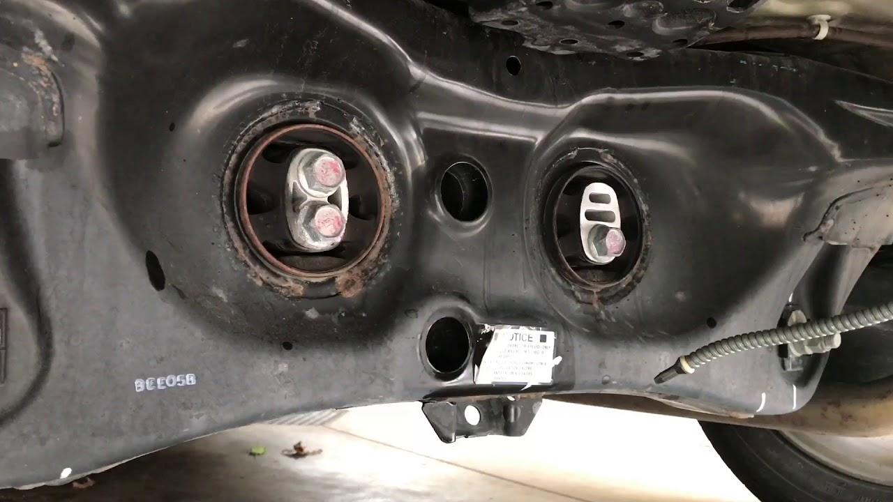 2015 Honda Pilot rear differential fluid change VTM4  YouTube