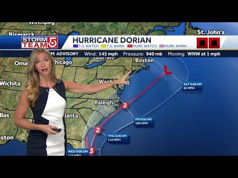 How Hurricane Dorian Will Impact Massachusetts, New England