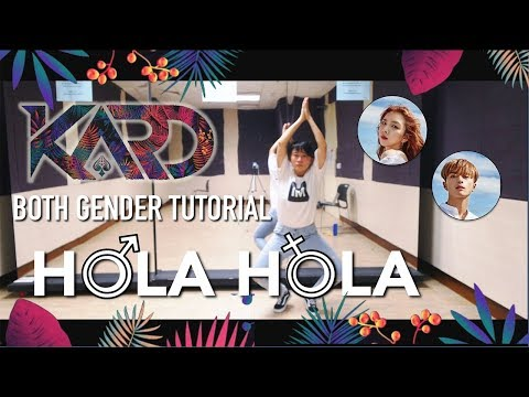 KARD - Hola Hola Dance Tutorial | Full w Mirror Both gender [Charissahoo]
