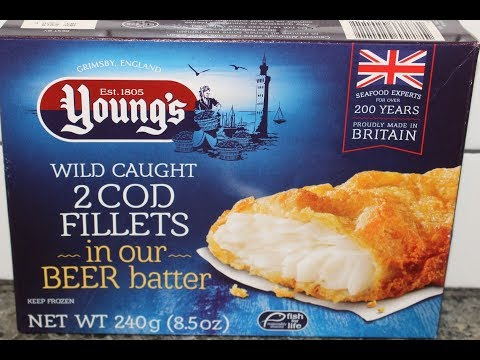 Young's Seafood: Cod Fillets In Beer Batter Review