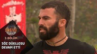 Survivor 2018 | 3. Bölüm | Söz düellosu seremonide de devam etti