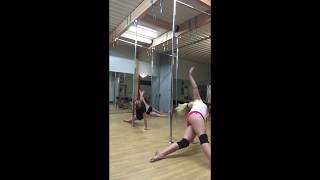 "Flying Lion Aerial Fitness Pole Choreography Adele ""Set Fire to the Rain"""