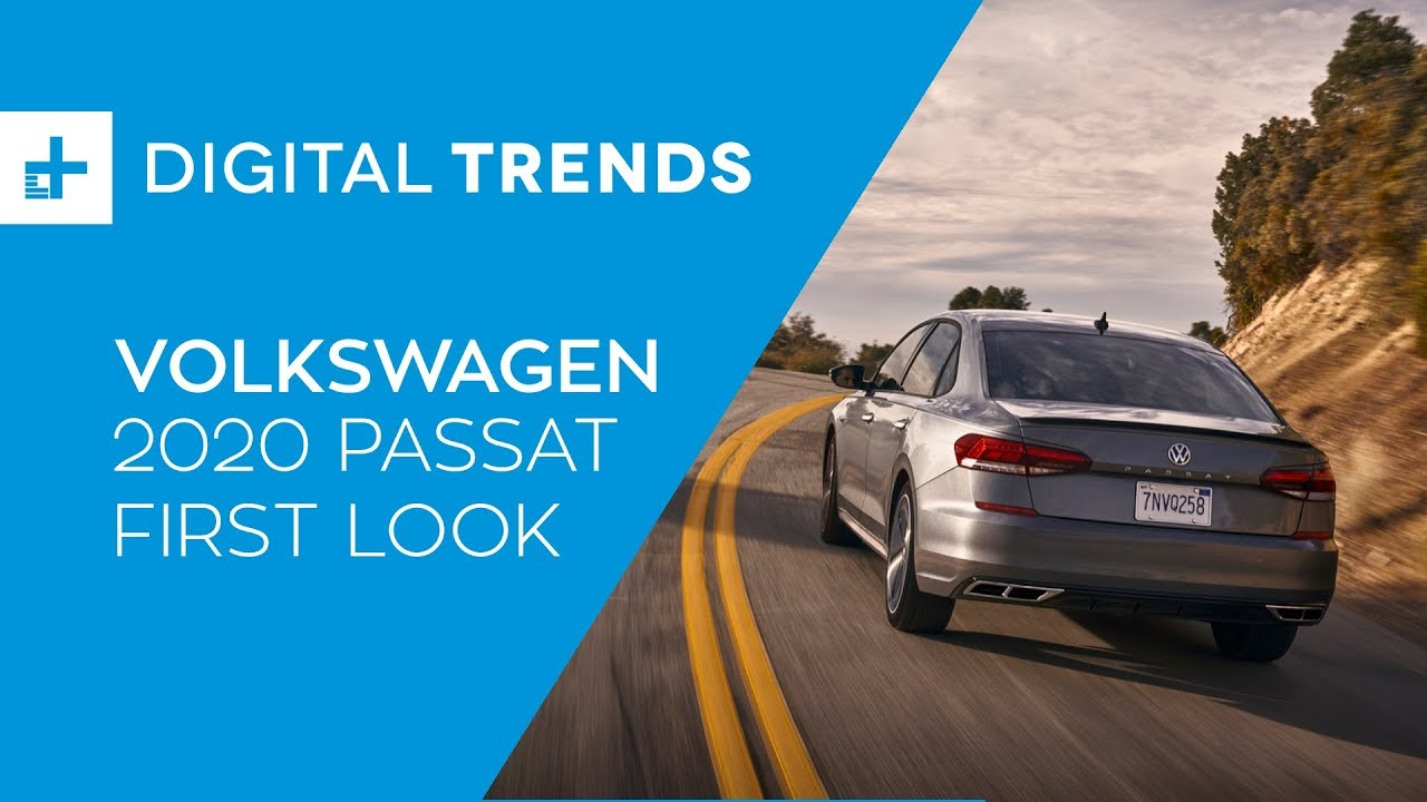 2020 Volkswagen Passat First Look At Detroit Auto Show 2019 Youtube