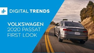 2020 Volkswagen Passat - First Look at Detroit Auto Show 2019