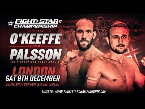 FIGHTSTAR CHAMPIONSHIP 13 | Stephen O'Keefe vs. Thor Palsson