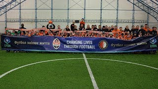 Shakhtar and Feyenoord share their coaching experience
